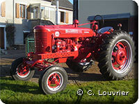 Mc Cormick Farmall Super BMD